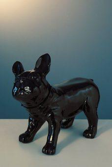 Mannequin-Works_Animal-Mannequin_Pooch-Range_French-Bulldog-D26-Gloss-Black