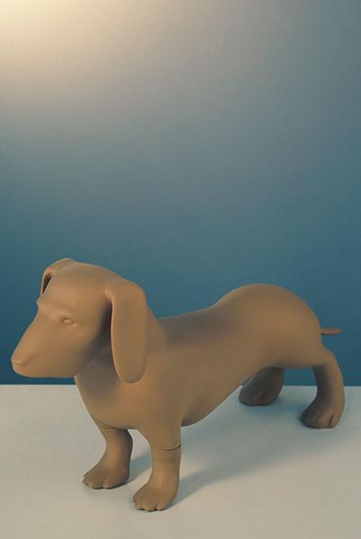 Mannequin-Works_Animal-Mannequin_Pooch-Range_MW-D-740001003-dachshund
